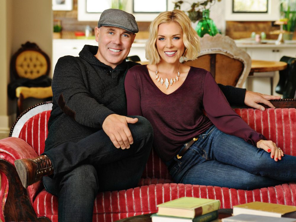 Kortney and Dave Wilson, stars of HGTV's Masters of Flip, are headlining the Edmonton Fall Home Show, running from Oct. 20-22 at the Edmonton Expo Centre. Supplied
